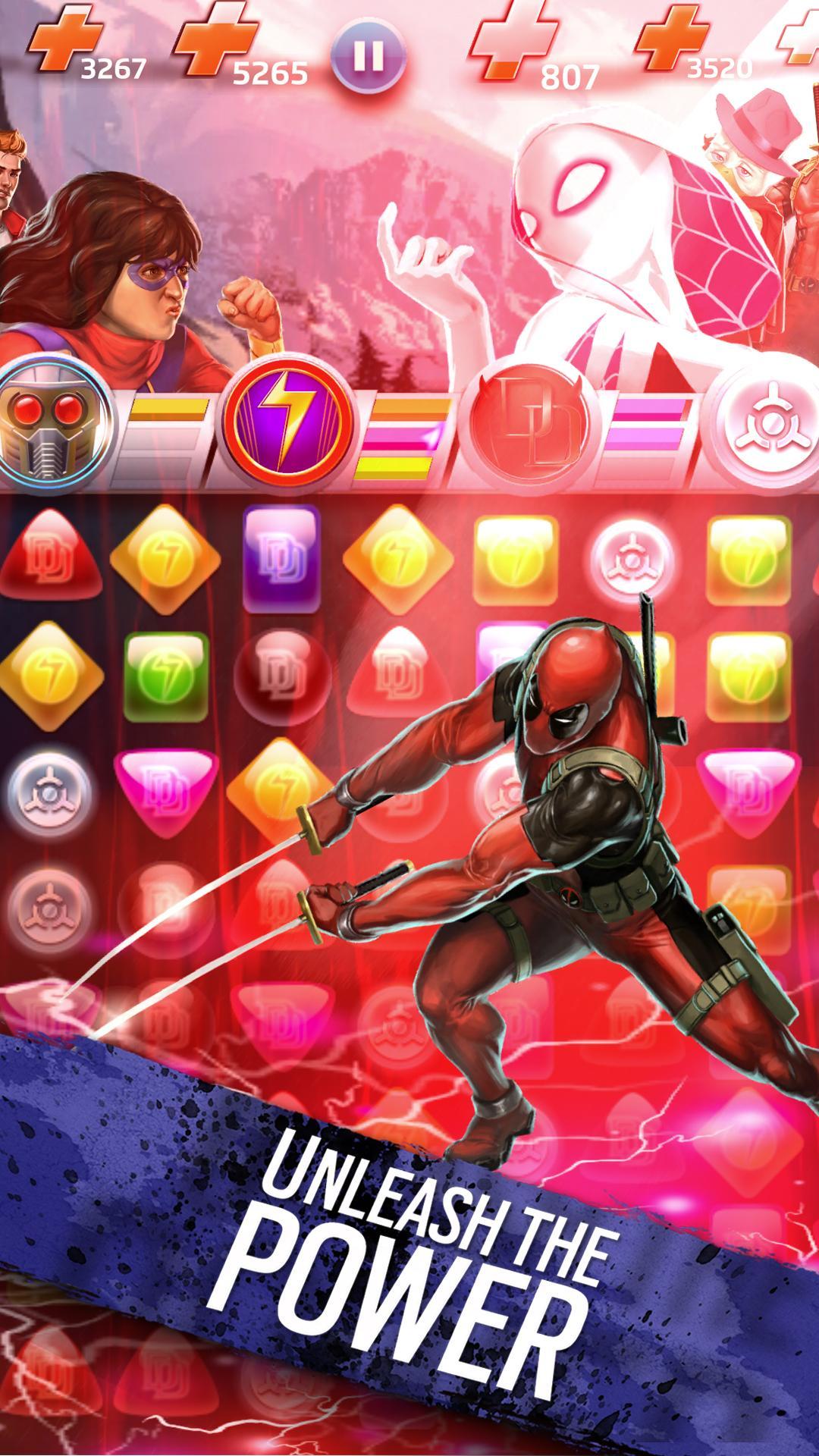 Marvel Puzzle Quest screenshot #11
