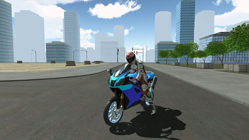Motorbike Driving Simulator 3D  screenshots 1