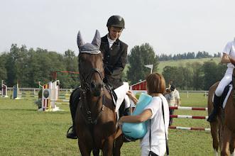 Photo: Nagroda dla najlepszego konia rasy małopolskiej w konkursie 70 cm