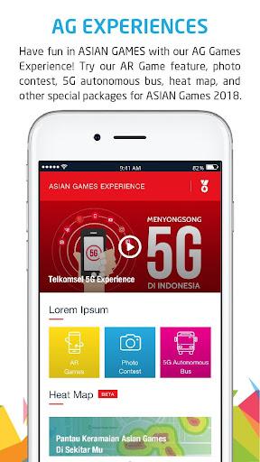 Telkomsel Asian Games screenshot 5