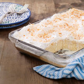 Coconut Cake With Cream Of Coconut Milk Recipes.