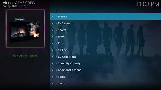 The Crew Addon for Kodi 19 [Install, Uninstall, FAQ]