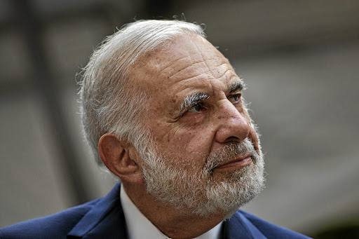 PRUNING: Billionaire activist-investor Carl Icahn remains Herbalife's biggest owner after cutting his stake to 35.2m million shares from 45.7m, million, which represented a 26.2% stake. Picture: BLOOMBERG/VICTOR J. BLUE