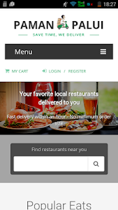 Paman Palui - food delivery screenshot 1