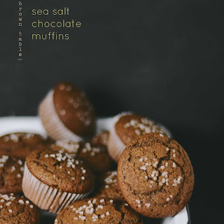 Sea Salt Chocolate Muffins