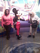 Photo: Mickey is always a gentleman. and yes we were about to dance.