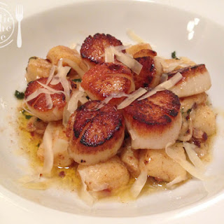 Seared Scallops & Brown Butter Gnocchi
