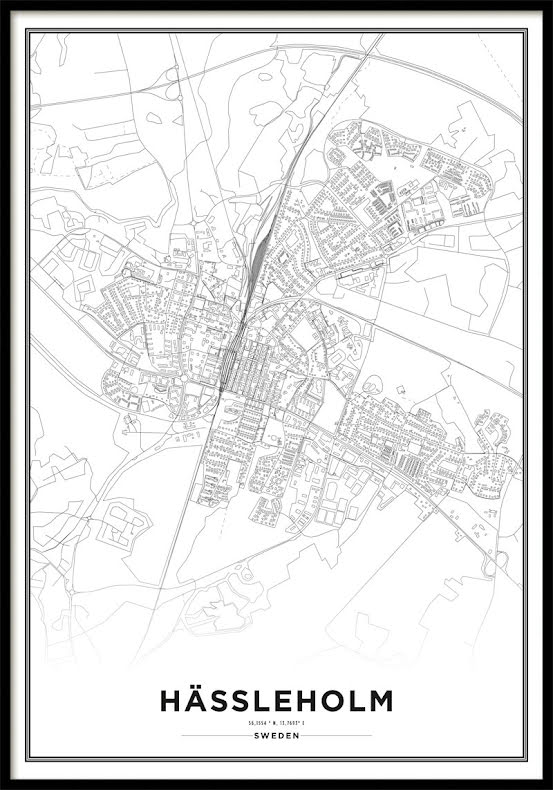 Karta Poster, Hässleholm