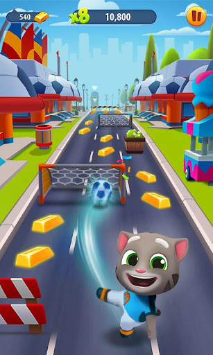 Talking Tom Gold Run  mod screenshots 4