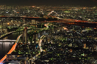 Photo: Horikiri Junction (堀切JCT) and some Metropolitan Expressway from Tokyo Skytree (東京スカイツリー). We didn't want to see cityspace of Tokyo, but I went to there to see The Junction. 夜景を見に行ったのでないのですよ。 JCTを見るためなのですよ。 #elevatedexpressways   #junction #nightphotography   #landscape   #tokyophoto