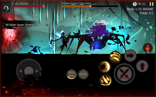 Shadow of Death: Dark Knight - Stickman Fighting  mod screenshots 3