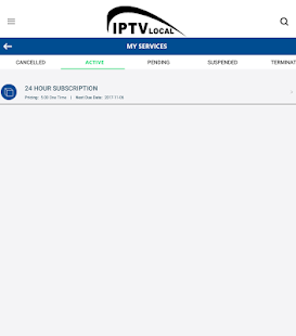 IPTVLocal Premium screenshot