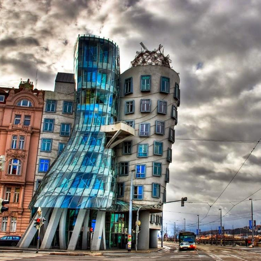 Dancing House Jigsaw Puzzles