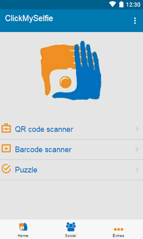 android ClickMySelfie Screenshot 2