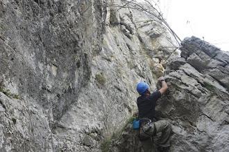 Photo: Даката си играе с малките скали