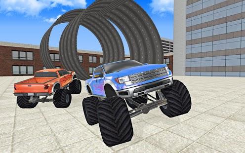 Racing Monster Truck Sim 3D - náhled