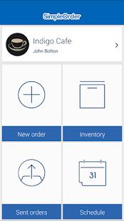 SimpleOrder App - náhled
