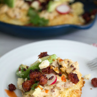 Cornmeal Biscuits With Chorizo Gravy