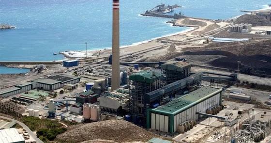 La central térmica se pone de nuevo en funcionamiento tras el paso de 'Filomena'