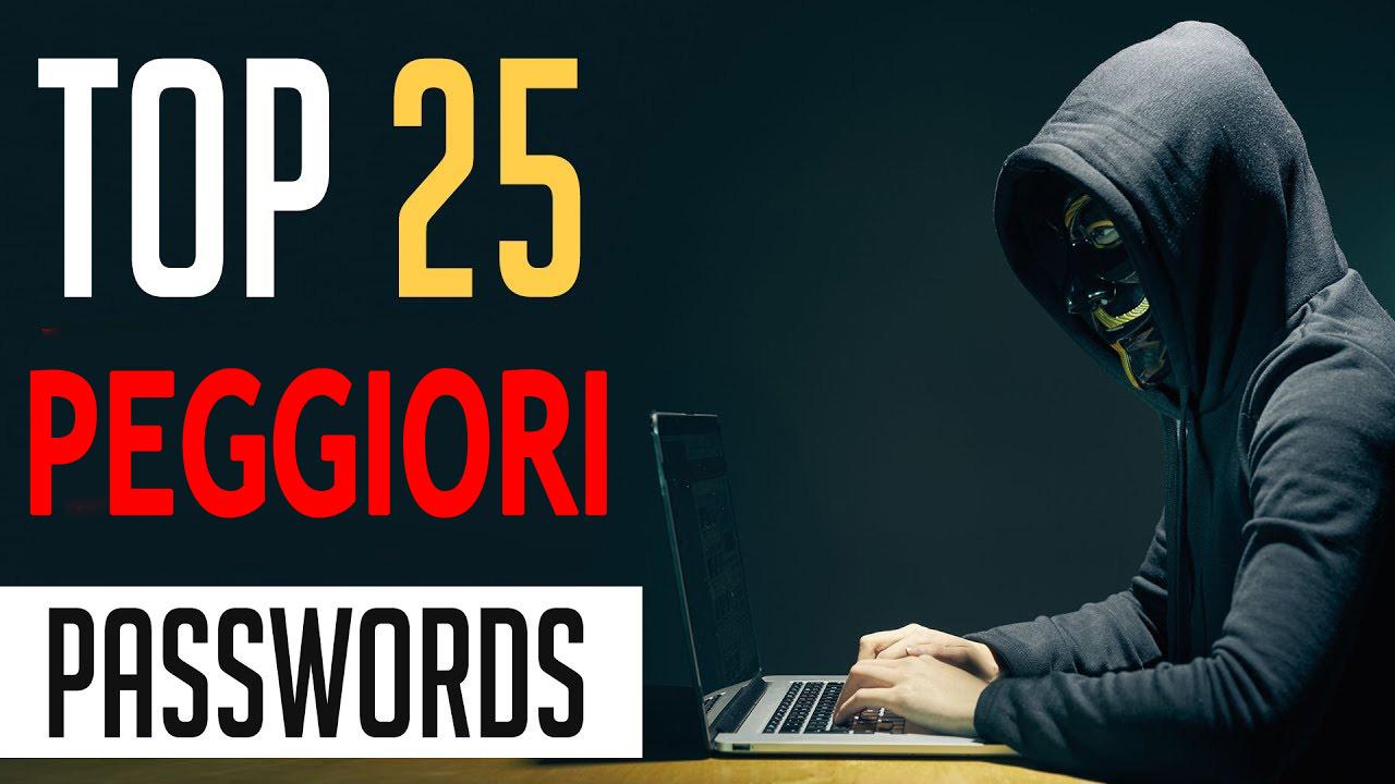 Classifica Password 2017: le peggiori da non usare nel 2018