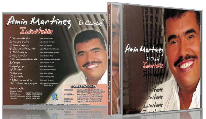 Amín Martínez 'El Chiche' - Inimitable (2005) [MP3 @320 Kbps]