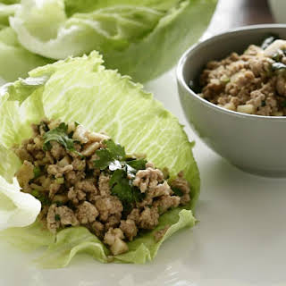 Asian Chicken Lettuce Cups.