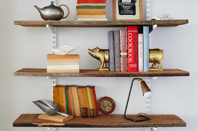 Keep shelves tidy and pretty
