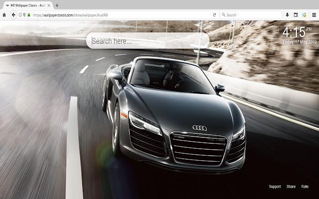Audi R8 Car Wallpaper HD Themes