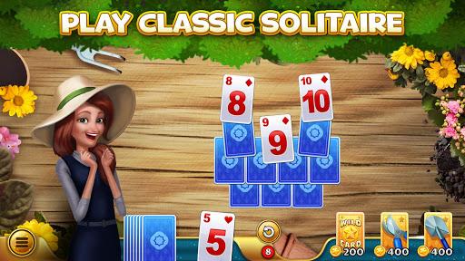 SoliTales: Classic Solitaire Tripeaks in Garden apklade screenshots 1