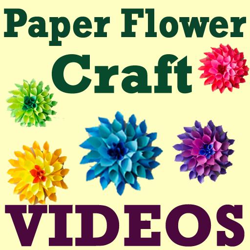 DIY Paper Flower Craft VIDEOs Android APK Download Free By Pritesh Vora5718