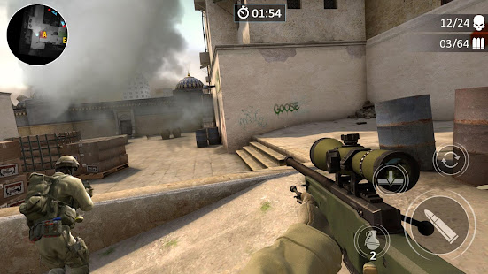 Crossfire GO Best CF shooting game v1 APK Full