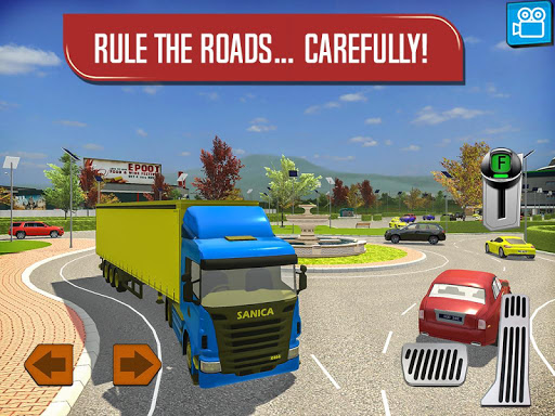 Delivery Truck Driver Simulator  screenshots 14