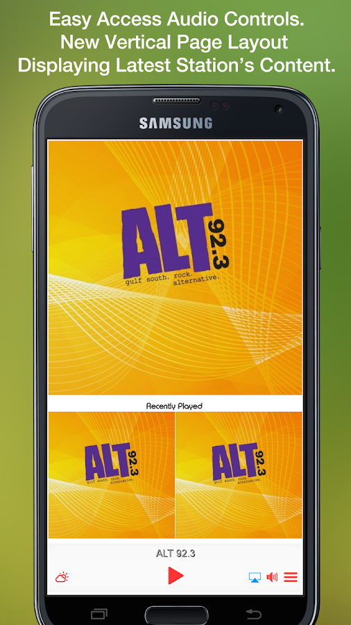ALT 92.3- screenshot