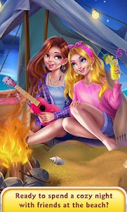 Girls Beach Party Night Salon- screenshot thumbnail