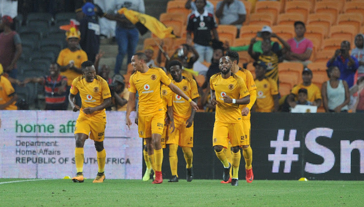 Kaizer Chiefs players on the fields. File photo.