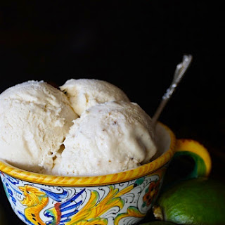 No-Churn Pineapple Guava Ice Cream