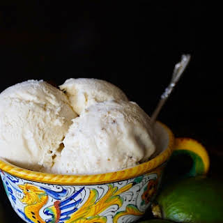 No-Churn Pineapple Guava Ice Cream.
