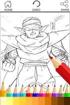 Coloring Book for Super Saiyan - screenshot thumbnail 04
