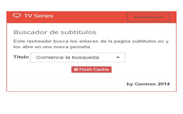 Busquedas de Subtitulos para series
