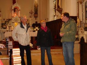 Photo: Bürgermeister Burg (rechts) mit seiner Berviller Kollegin und deren Vorgänger