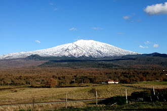 Photo: ETNA visto dalla strada per Bronte
