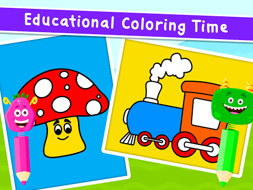 Coloring Games for Kids - Drawing & Color Book  screenshots 19
