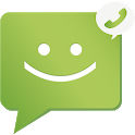 SMS from Android 4.4 with Caller ID icon