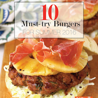 10 Must-try Burgers for Summer 2016