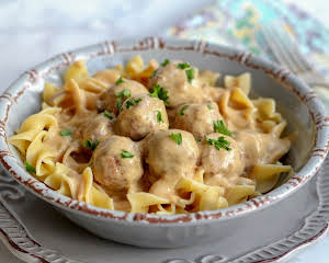 Slow Cooker/Crock Pot Mock Swedish Meatballs