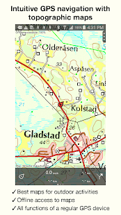 Topo GPS Norway Android Apps On Google Play - Norway map app