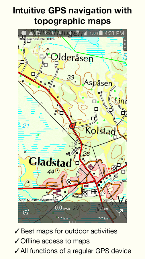 Topo GPS Norway Android Apps On Google Play - Mapquest norway
