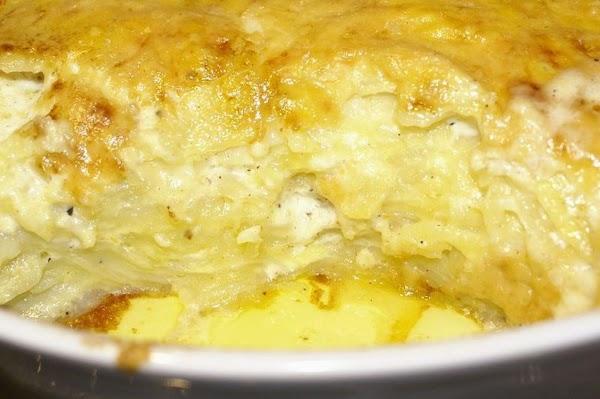 Carmelized Onion And Potato Breakfast Casserole Recipe