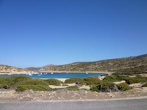 Photo: West bay on Amorgos