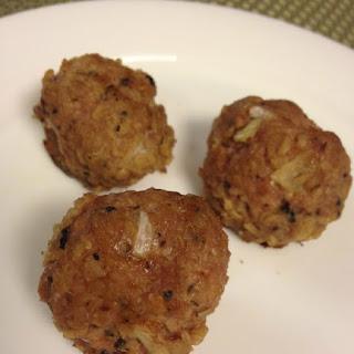 Turkey Meatballs.